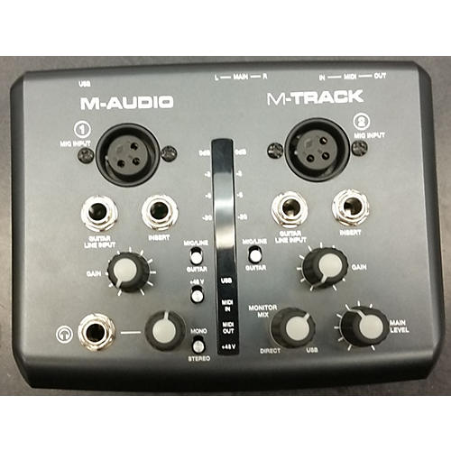 M-Audio M TRACK Audio Interface