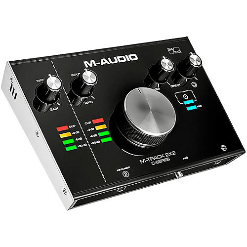 Usb Audio Interfaces Test : m audio m track c series 2x2 usb audio interface guitar center ~ Hamham.info Haus und Dekorationen