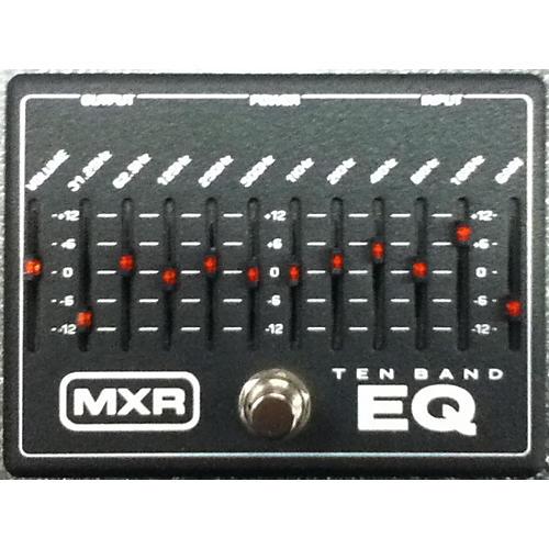 MXR M108 10 Band EQ Black And White Pedal