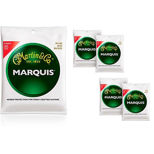 Martin M1100 Marquis 80/20 Bronze Light Acoustic Guitar Strings
