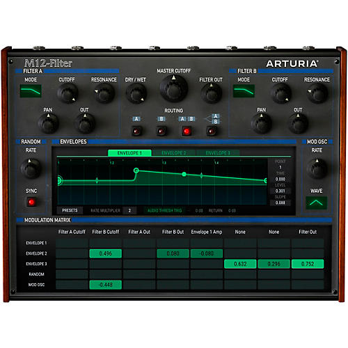 Arturia M12-Filter (Software Download)