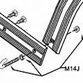 Pearl M14J J Bolt Assembly thumbnail