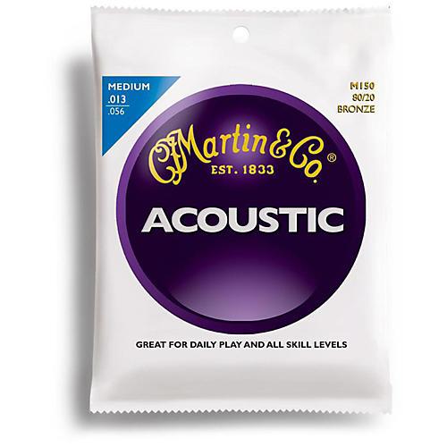 Martin M150 80/20 Bronze Medium Acoustic Guitar Strings