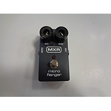 MXR M152 Micro Flanger Effect Pedal