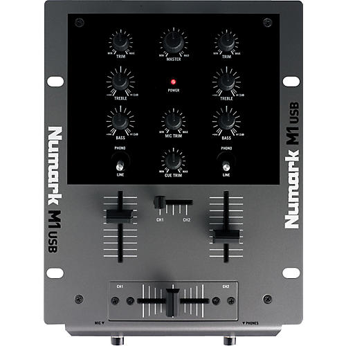 Numark M1USB DJ Mixer with USB