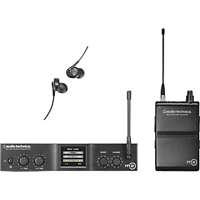 audio technica m2 in ear wireless monitor system band l guitar center. Black Bedroom Furniture Sets. Home Design Ideas