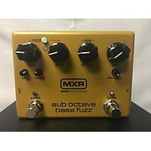 MXR M287 Sub Octave Bass Fuzz Bass Effect Pedal