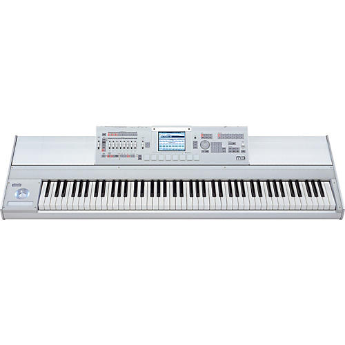Korg m3-61 key synthesizer sampler midi controller with roland.