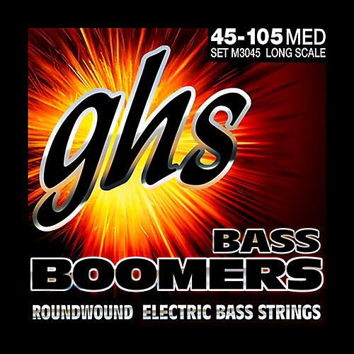 GHS M3045 Bass Boomers Medium Electric Bass Strings