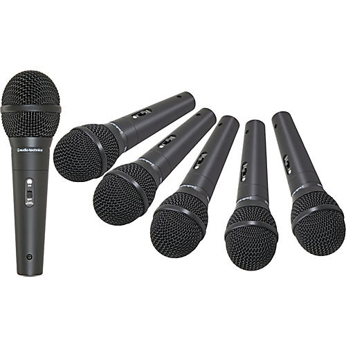 Audio-Technica M4000S Microphone 6-Pack