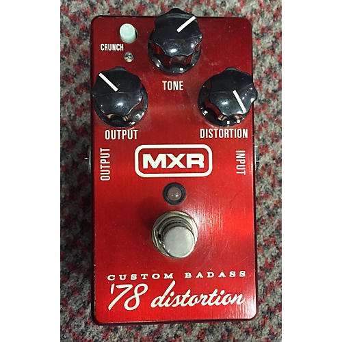 MXR M78 1978 Custom Badass Distortion