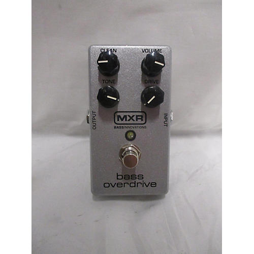 MXR M89 Bass Overdrive Effect Pedal