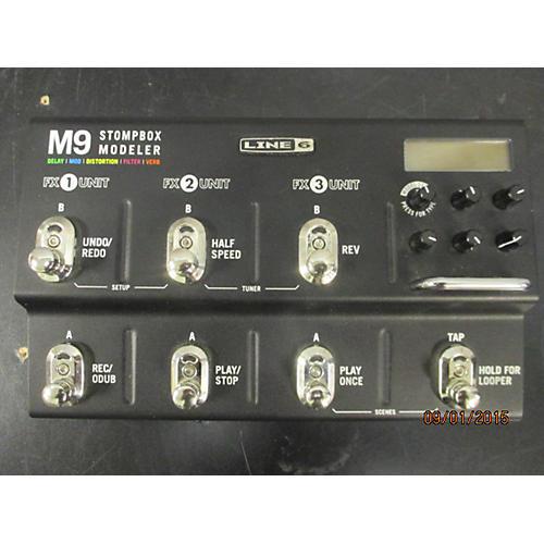 Line 6 M9 Stompbox Modeler Effect Processor