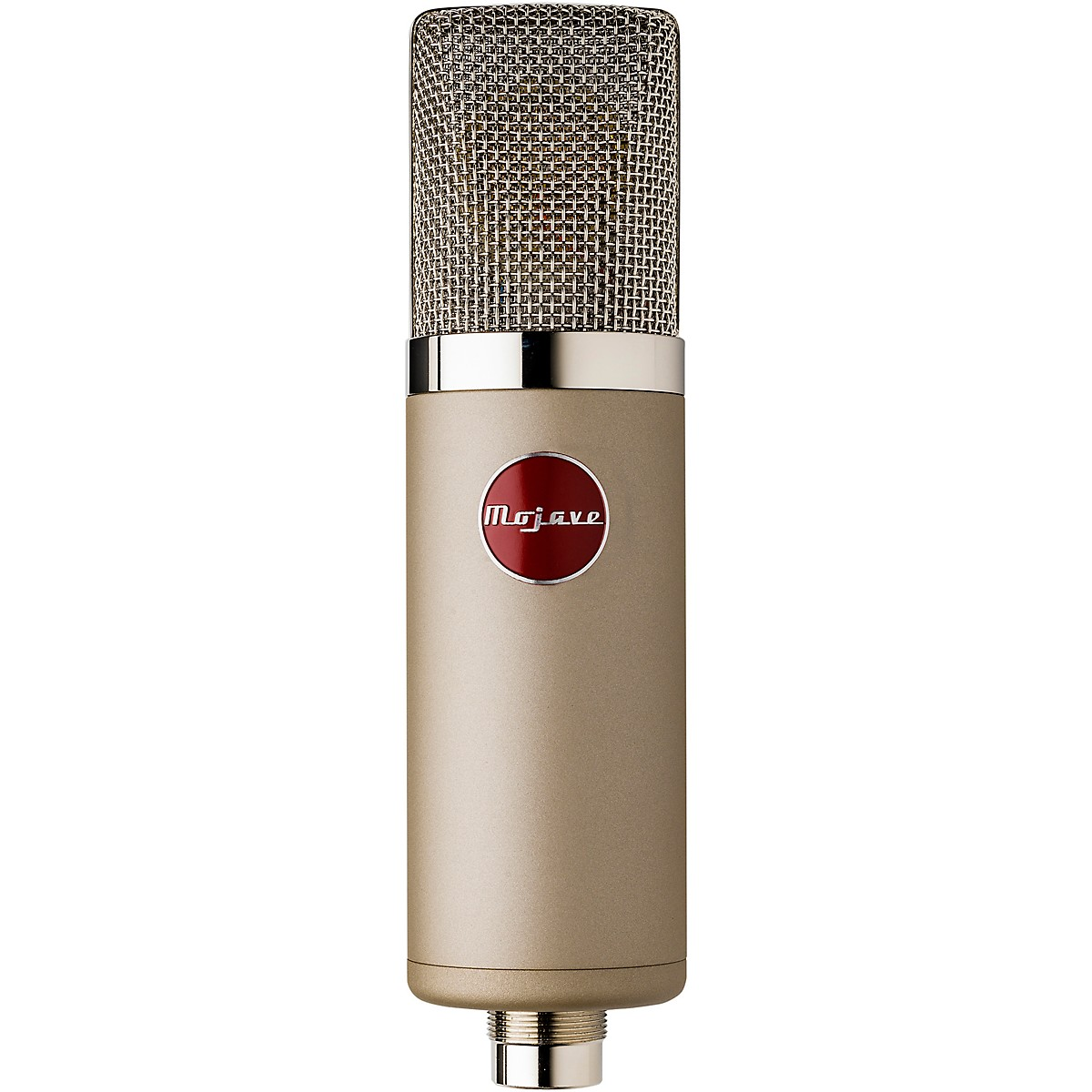 Mojave Audio MA-300SN Large-Diaphragm Multi-Pattern Tube Condenser Microphone - Satin Nickel