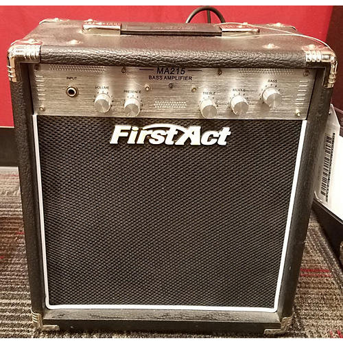 First Act MA215 Bass Combo Amp
