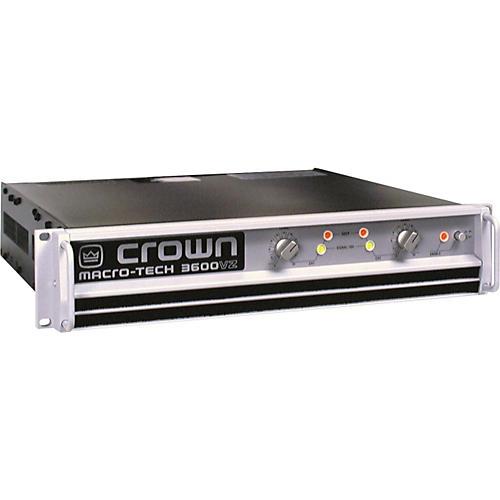 crown ma3600vz stereo power amp guitar center. Black Bedroom Furniture Sets. Home Design Ideas