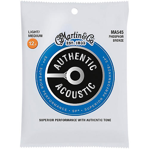 Martin Ma545 Sp Phosphor Bronze Light Medium Authentic
