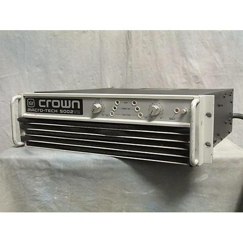 Crown MACROTECH 5002VZ Power Amp