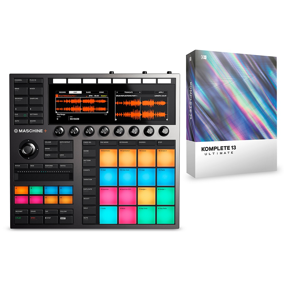Native Instruments MASCHINE+ with KOMPLETE 13 ULTIMATE