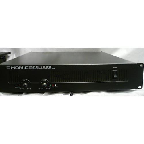 Phonic MAX 1600 Power Amp