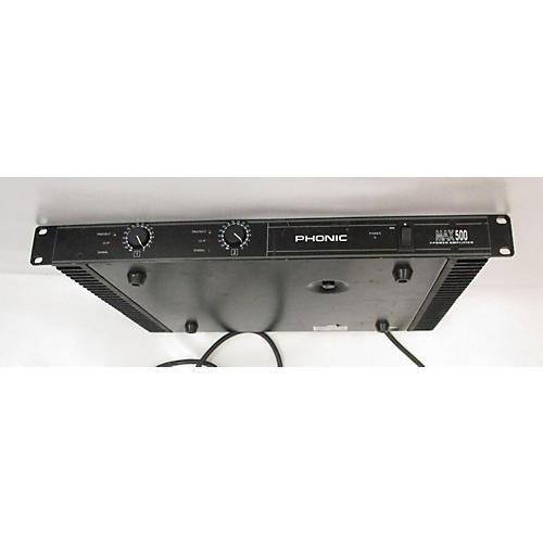 Phonic MAX 500 Power Amp