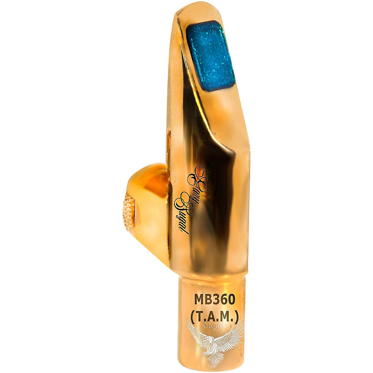 Sugal MB 360 TAM 18 KT HGE Gold Plated Tenor Saxophone Mouthpiece