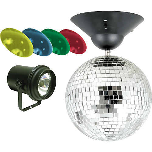 American Dj Mb 8 8 Quot Mirror Ball Package Guitar Center