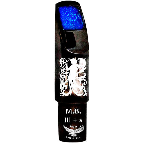 Sugal MB III + s Black Hematite Laser Enhanced Tenor Saxophone Mouthpiece