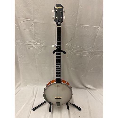 used epiphone mb100 banjo natural guitar center. Black Bedroom Furniture Sets. Home Design Ideas