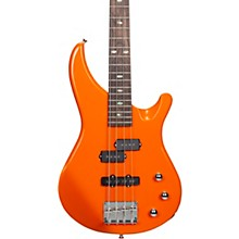 MB100 Short Scale Solid Body Electric Bass Orange
