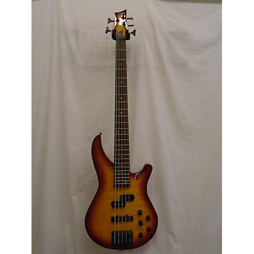 used mitchell mb305qhb electric bass guitar cherry sunburst guitar center. Black Bedroom Furniture Sets. Home Design Ideas