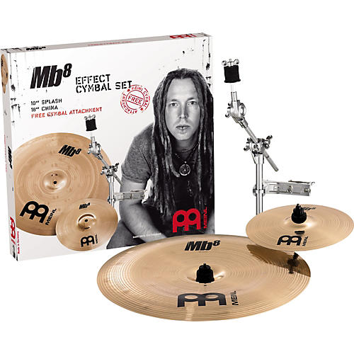 Meinl MB8 Effect Pack with Free Cymbal Attachment