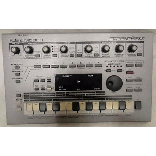 used roland mc 303 groovebox synthesizer guitar center. Black Bedroom Furniture Sets. Home Design Ideas