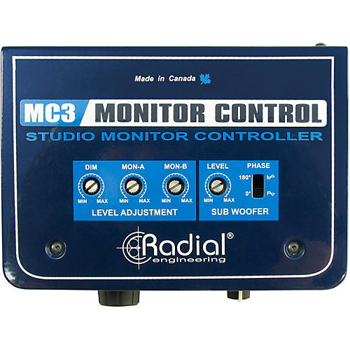 Radial Engineering MC3 Passive Studio Monitor Control