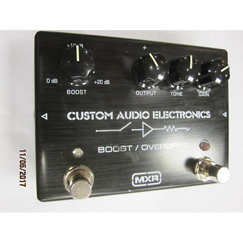 MXR MC402 Boost Overdrive Effect Pedal