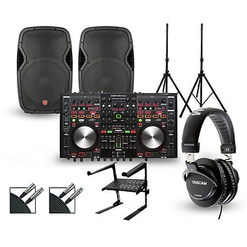 Denon MC6000MK2 with Harbinger V1015 DJ Package