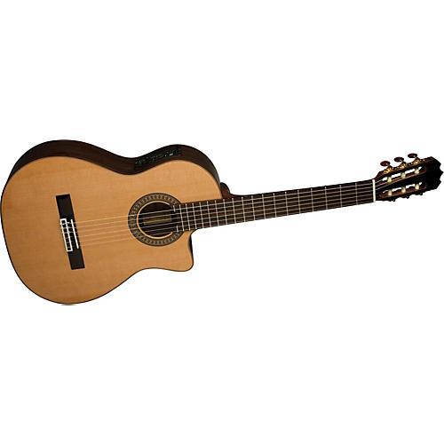 Alvarez MC761C Masterworks Cutaway Classical Acoustic-Electric Guitar with System 600 Mk II
