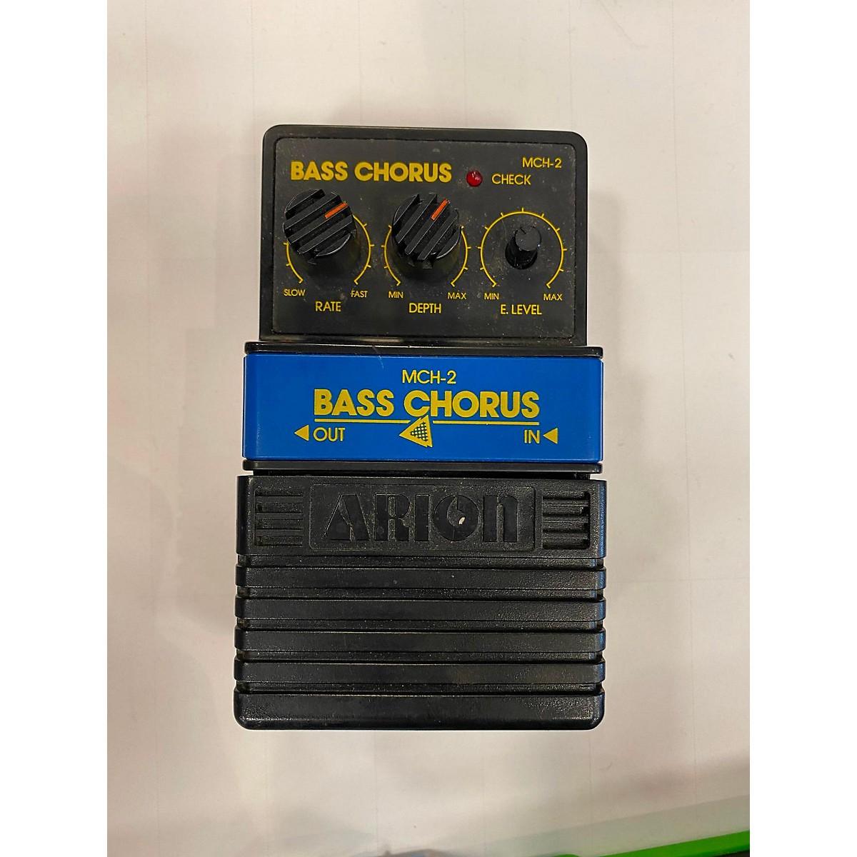 Arion MCH-2 BASS CHORUS Bass Effect Pedal