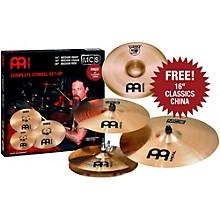 Meinl MCS 3-Cymbal Set + Free 16 Inch China