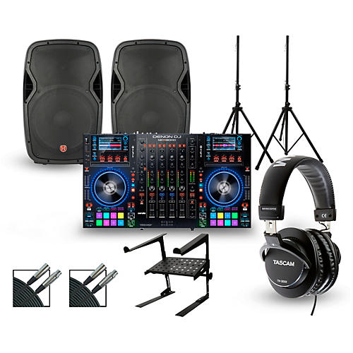 Denon MCX8000 with Harbinger V1015 DJ Package