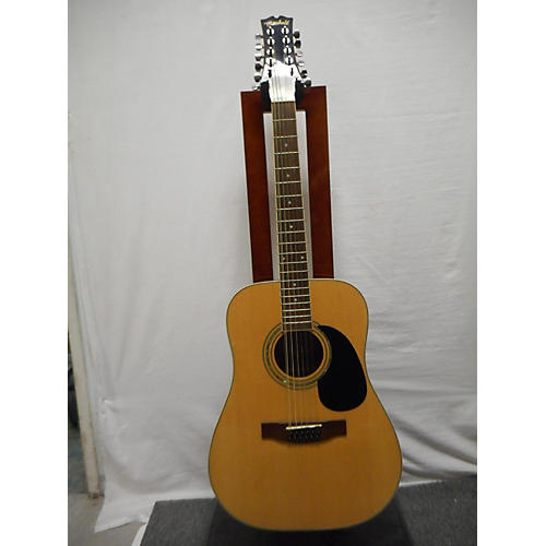used mitchell md100s12 12 string acoustic guitar natural guitar center. Black Bedroom Furniture Sets. Home Design Ideas