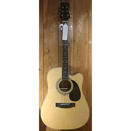 used mitchell md100sce acoustic electric guitar natural guitar center. Black Bedroom Furniture Sets. Home Design Ideas