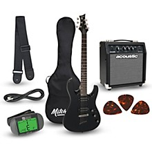 MD150PK Electric Guitar Launch Pack with Amp Black