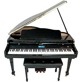 Digital Baby Grand Piano >> Suzuki Mdg 400 Baby Grand Digital Piano Guitar Center
