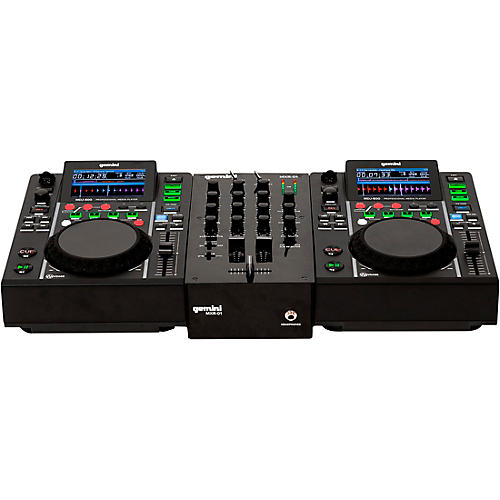 Gemini MDJ-500 Performance Pack with Mixer, Mic and Headphones