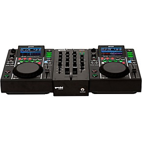 gemini mdj 500 performance pack with mixer mic and headphones guitar center. Black Bedroom Furniture Sets. Home Design Ideas