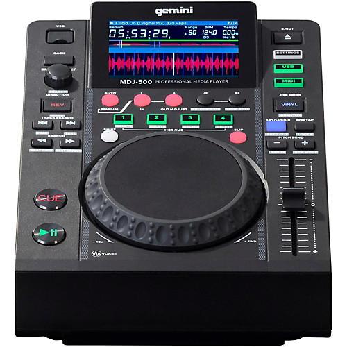 Gemini MDJ-500 Professional USB DJ Media Player
