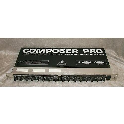 Behringer MDX2200 Compressor