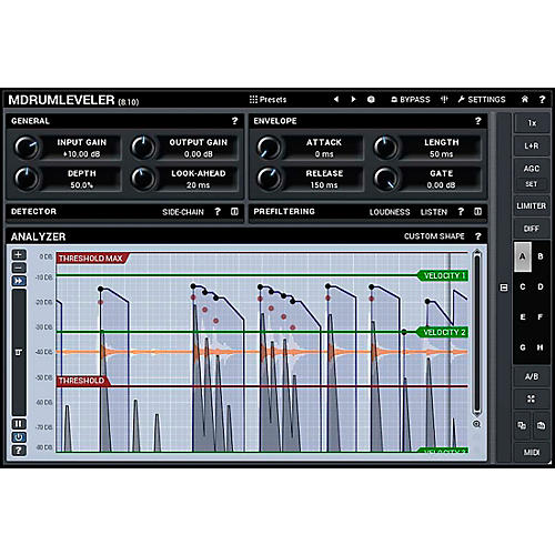 MeldaProduction MDrumLeveler Software Download