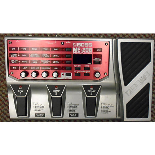 Boss ME20B Bass Multi Bass Effect Pedal